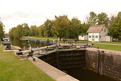 Lock #5 on Tay Canal