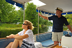 Captain David from Tay Canal Tours