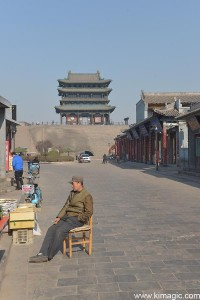 Northern Gate in Pingyao Ancient City