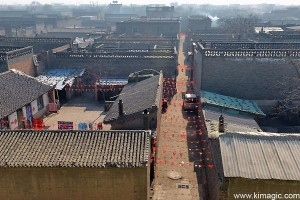 View from Pingyao City Wall, UNESCO WORLD Heritage Site
