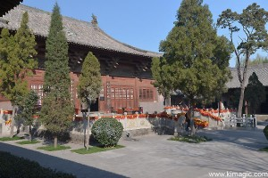 Ancient City Pingyao Temple area