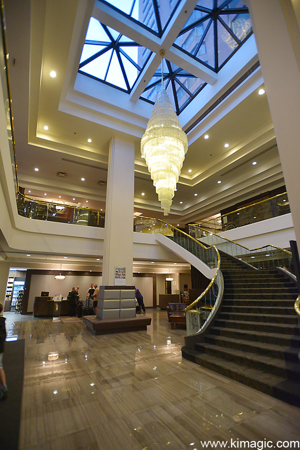 Loby Hamilton Sheraton Hotel