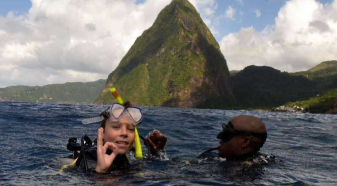 PADI Open Water Certification in St.Lucia