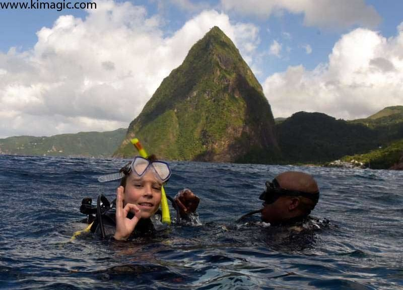 Dive in Saint Lucia