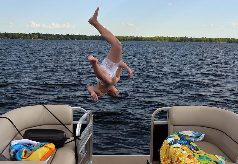 Water Fun on the lake near McReary Resort