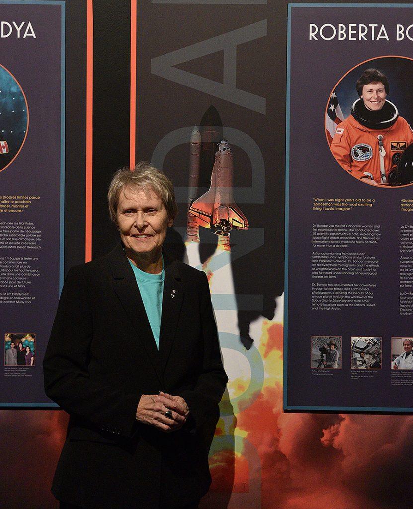 Roberta Bondar, Canadian Astronaut, Ontario Science Centre