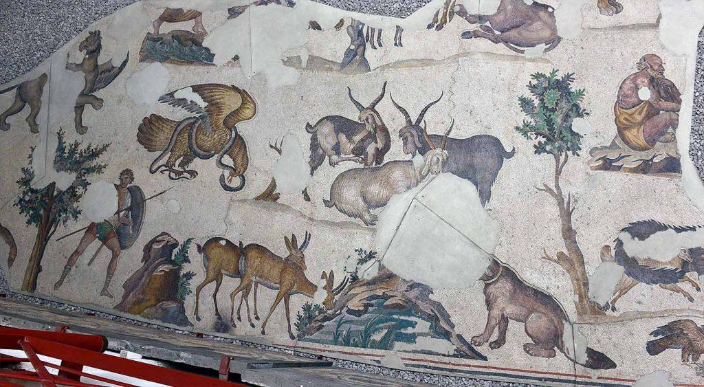 Mosaic Museum, Istanbul, Turkey