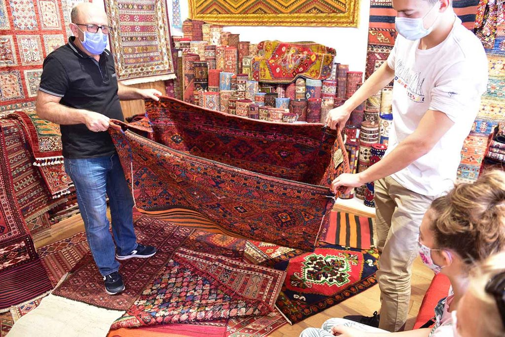 Turkish carpet sales