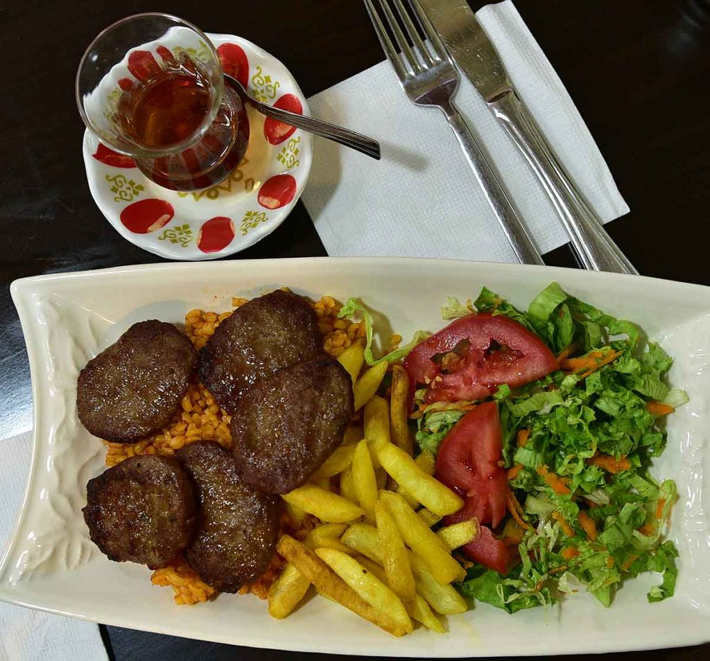 Istanbul offers a great variety of meals, cooked just for you!