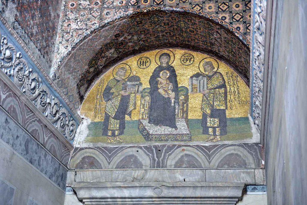 Hagia Sophia, Istanbul, main entrance