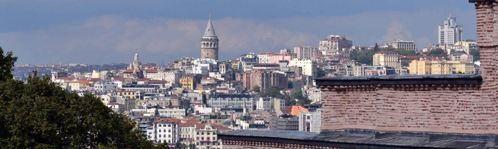 View of Istanbul from Topkapi Place