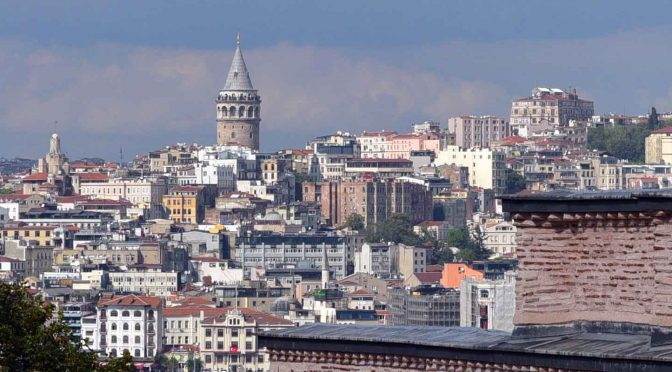 Istanbul, view from Topkapi Palace