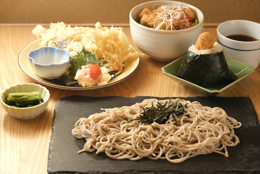 Soba Restaurant offers casual dining for a reasonable price